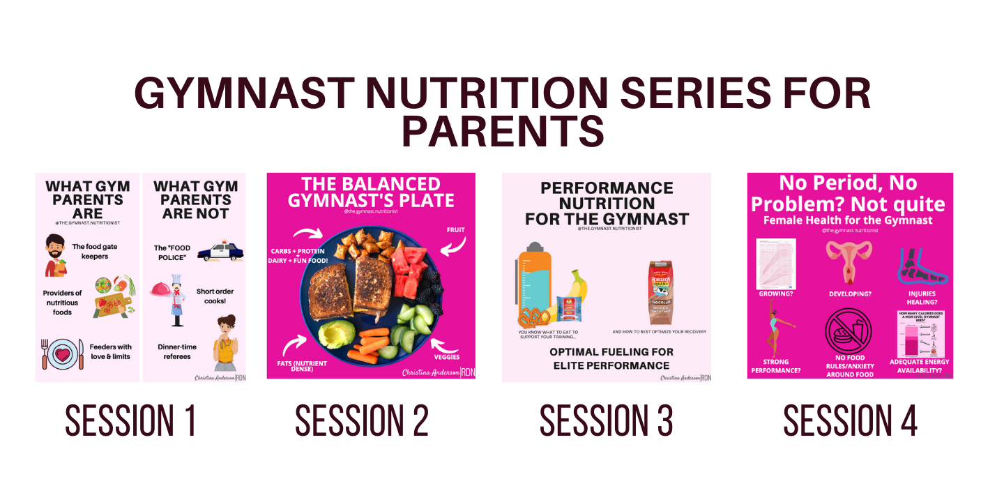 Gymnast Nutrition Series for Parents-7
