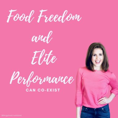food freedom and elite performance