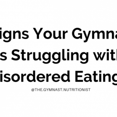 8 signs disordered eating